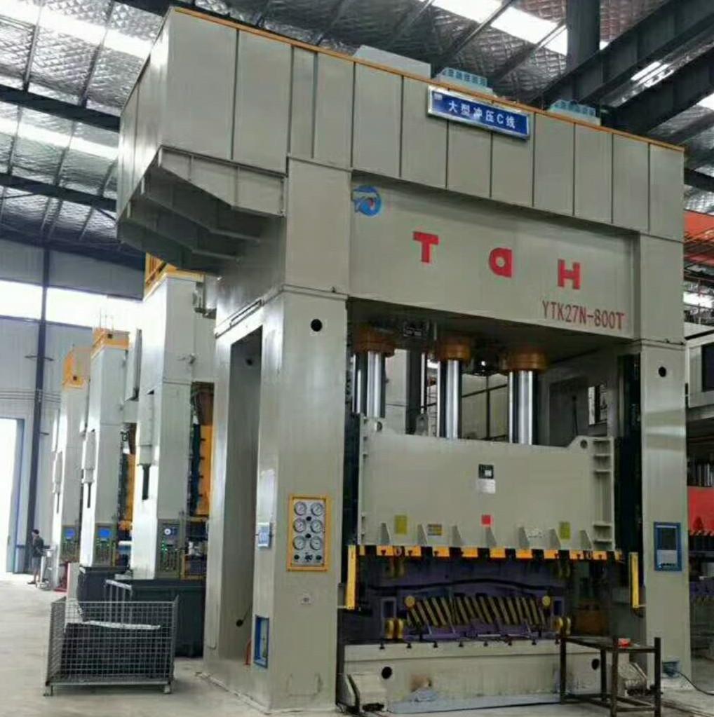 大型伺服液压机生产线